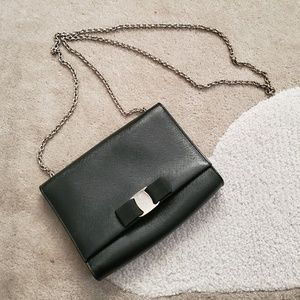 Salvatore Ferragamo Mini Vara Clutch Crossbody Bag